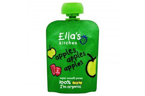 Ella's Kitchen Ovocné pyré - 100 % Jablko   Ovocné přesnídávky