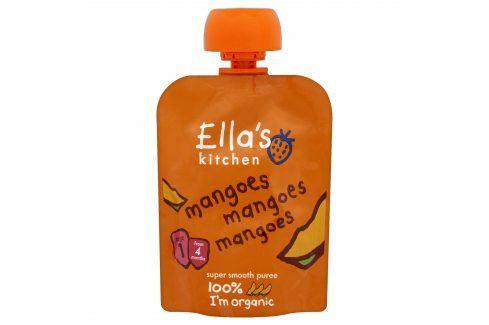 Ella's Kitchen Ovocné pyré - 100 % mango   Ovocné přesnídávky