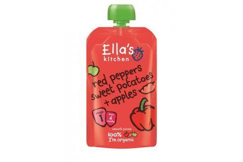 Ella's Kitchen Červená paprika, sladké brambory a jablko   Zeleninové příkrmy