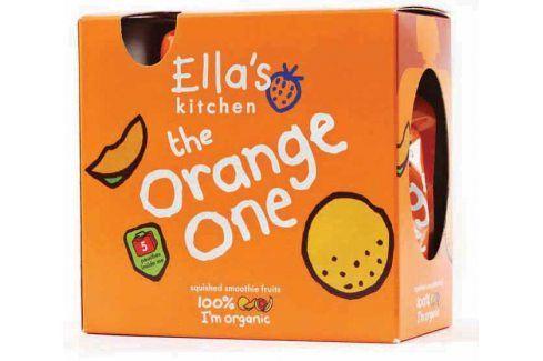 Ella's Kitchen Ovocné pyré - Orange One (Mango) - 5 ks   Ovocné přesnídávky