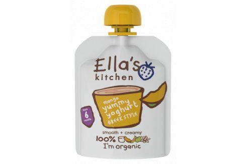 Ella's Kitchen Řecký jogurt - mango   Ovocné přesnídávky