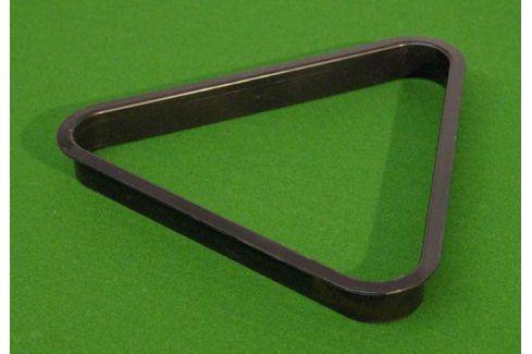Garthen 69 Trojúhelník plastový černý 57,2 mm Kulečník a příslušenství