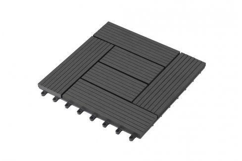 G21 Palmyra 57647 WPC dlaždice, Eben 2,3x30x30 cm Podlahy