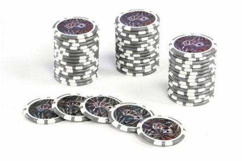 Garthen Ocean 513 Kusový žeton Hodnota 1 - 50 ks Žetony na poker