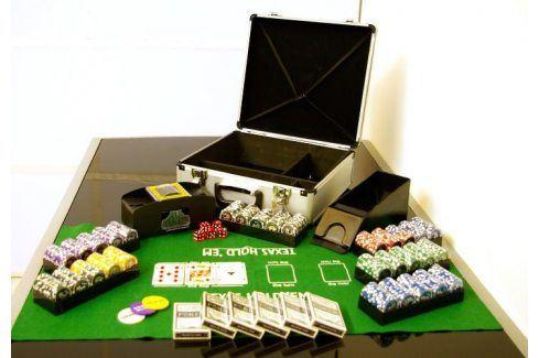 Garthen Poker set 600 ks žetonů OCEAN s příslušenstvím D01032 Žetony na poker
