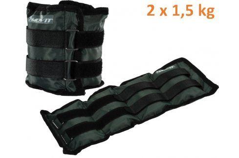 MOVIT 31948 zátěžové manžety, 2 x 1,5 kg šedá Zátěžové náramky