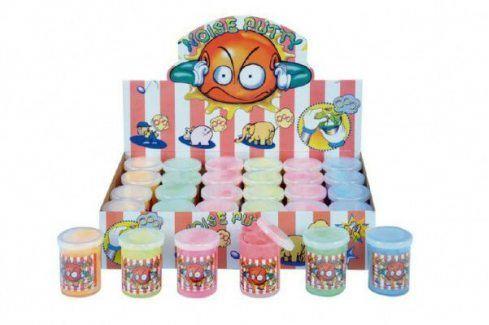 Sliz - hmota prdící 6xasst 6 barev 2v boxu Dekorace do dětských pokojů