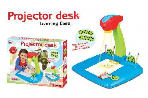 G21 24524 Hračka Kreslící projektor modrý Kreslící tabulky a šablony