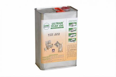 Garthen 2144 Pečující týkový olej na dřevo - 3,8 l Speciální čisticí prostředky