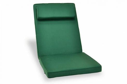 Divero 324 Polstrování na židli - zahradní zeleně Zahradní lehátka