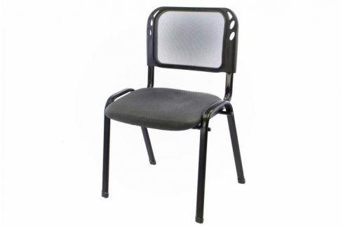 Garthen 38253 Stohovatelná kongresová židle - šedá Kancelářská křesla