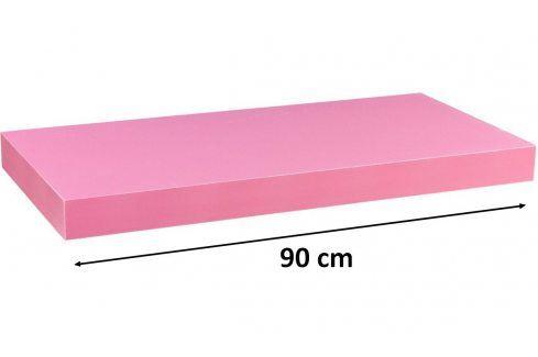 STILISTA VOLATO 31065 Nástěnná police  - růžová 90 cm Regály a policky