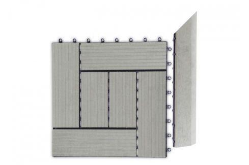 G21 Incana 27712 Přechodová lišta pro WPC dlaždice 38,5x7,5 cm rohová (pravá) Podlahy