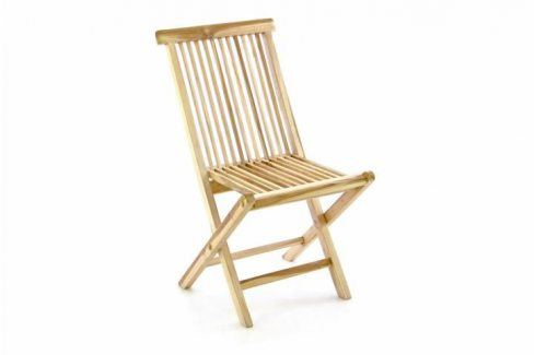 Garthen Gardenay 363 Skládací židle z týkového dřeva Zahradní židle a křesla
