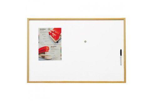 2x3 DI-BSTCO6090W Eco magnetická tabule 90x60 cm Školní potřeby