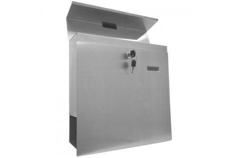 Tuin 2646 Nástěnná poštovní schránka z ušlechtilé oceli Poštovní schránky