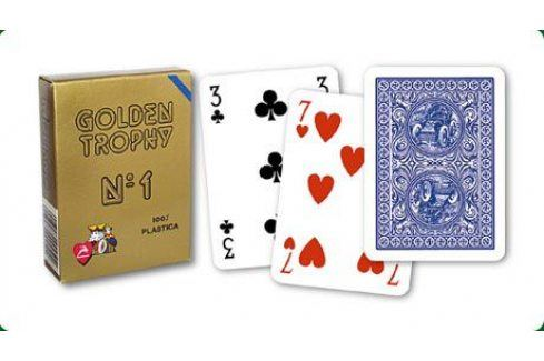 Modiano Golden Trophy 31304 Karty - Modré Karty na poker