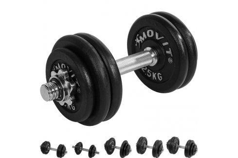MOVIT 1252 Profesionální činka 15 kg Činky