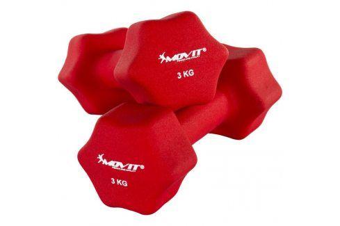 MOVIT 29321 Set 2 činek s neoprenovým potahem 3 kg Činky