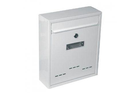 G21 RADIM Schránka poštovní malá 310x260x90mm bílá Poštovní schránky