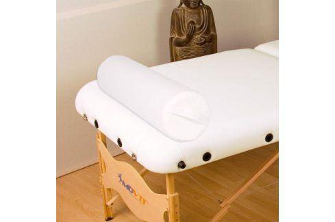 MOVIT Polštář pro masážní stůl bílý kožený 68 válec Masážní křesla