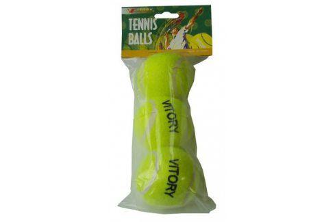 CorbySport 5017 Míčky tenisové 3ks v sáčku Tenisové míče