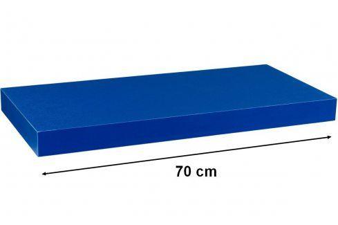STILISTA VOLATO 31055 Nástěnná police  - modrá 70 cm Regály a policky