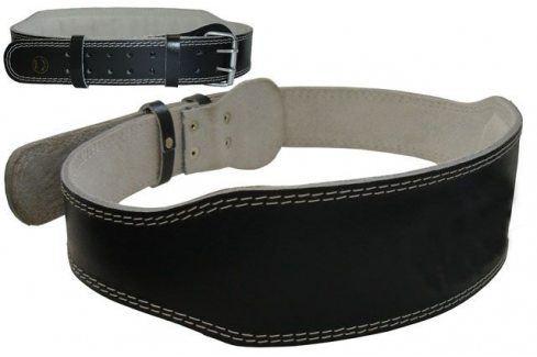 Effea 4799 Vzpěračský pás kožený Opasky, háky a fitness rukavice
