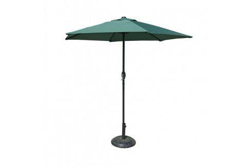 Tradgard 41378 Slunečník 230 cm - tmavě zelený Zahradní slunečníky a doplňky