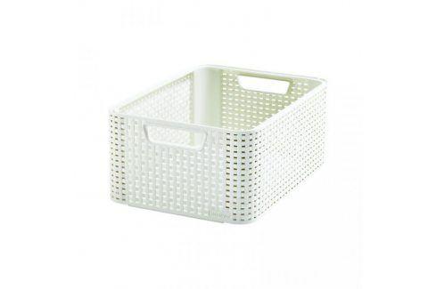 CURVER STYLE M 33118 Plastový košík - krémový Úložné boxy