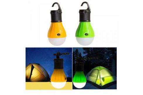 Lustr do přírody nebo na pergolu / světlo do stanu - Oranžová Zahradní lampy