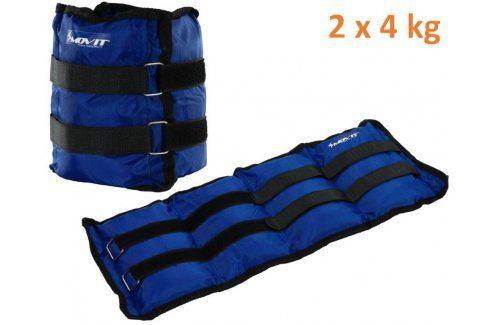 MOVIT 31952 zátěžové manžety, 2 x 4,0 kg modrá Zátěžové náramky