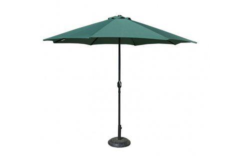 Tradgard 41382 Slunečník  300 cm - zelený Zahradní slunečníky a doplňky