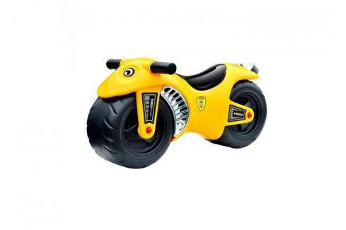 G21 BIKE 27881 Motorka žlutá Odrážedla