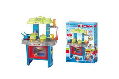 G21 24459 Dětská kuchyňka s příslušenstvím modrá Dětské kuchyňky