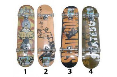 CorbySport 5728 Skateboard závodní s protismykem Skateboard
