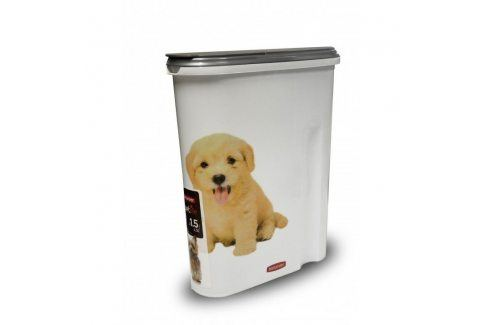 CURVER PSI 32440 Plastová dóza na krmivo 1,5 kg Misky a zásobníky pro psy