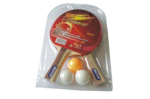 Brother 2-star 5024 Sada 2 PP pálky+ míček Pingpongové pálky