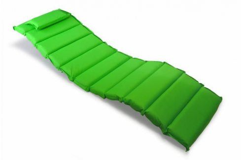 Divero 319 Polstrování na lehátko  - zelená Zahradní slunečníky a doplňky
