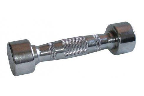 CorbySport 4586 Chromová jednoruční činka 3kg Činky