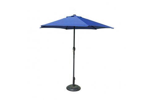 Tradgard 41376 Slunečník  230 cm - sv.modrý Zahradní slunečníky a doplňky