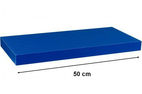 STILISTA VOLATO 31044 Nástěnná police  - modrá 50 cm Regály a policky