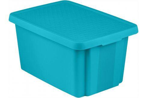 CURVER Úložný box s víkem  45L - modrý Úložné boxy
