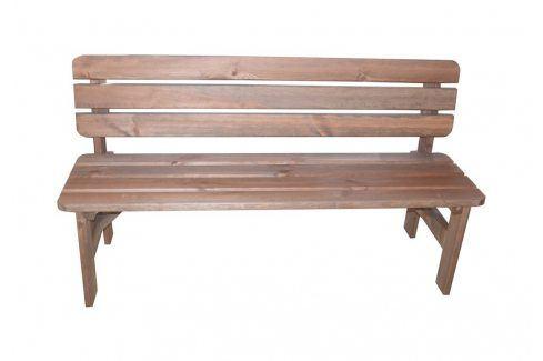Tradgard MIRIAM 35272 Dřevěná lavice - 180CM Zahradní lavice