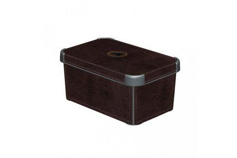 CURVER DECO LEATHER 33021 Plastový úložný box - S Úložné boxy