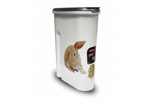 CURVER 32439 Dóza na krmivo 1,5 kg - králíček Misky a zásobníky pro psy