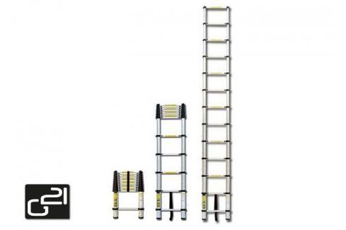 G21 GA-TZ11-3,2M Teleskopický žebřík hliníkový Žebříky