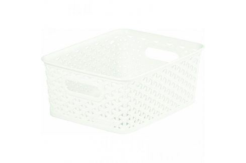 CURVER MY STYLE 33084 Plastový košík S - krémový Úložné boxy