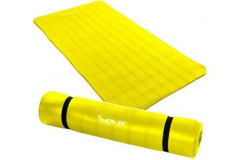 MOVIT 32910 Gymnastická podložka 190 x 100 x 1,5 cm žlutá Podložky na cvičení