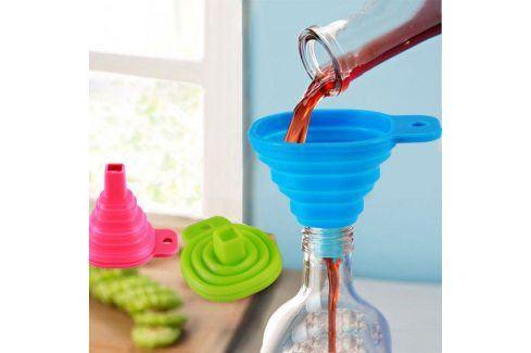 Skládací silikonový trychtýř Ostatní kuchyňské spotřebiče